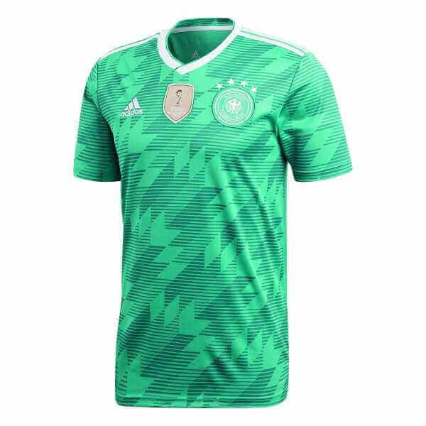 superior quality fd98c 533ab adidas DFB Trikot Deutschland Away grün