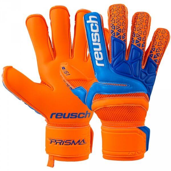 cf40f02dc84 reusch Prisma Prime S1 Evolution Finger Support - shocking orange/blue