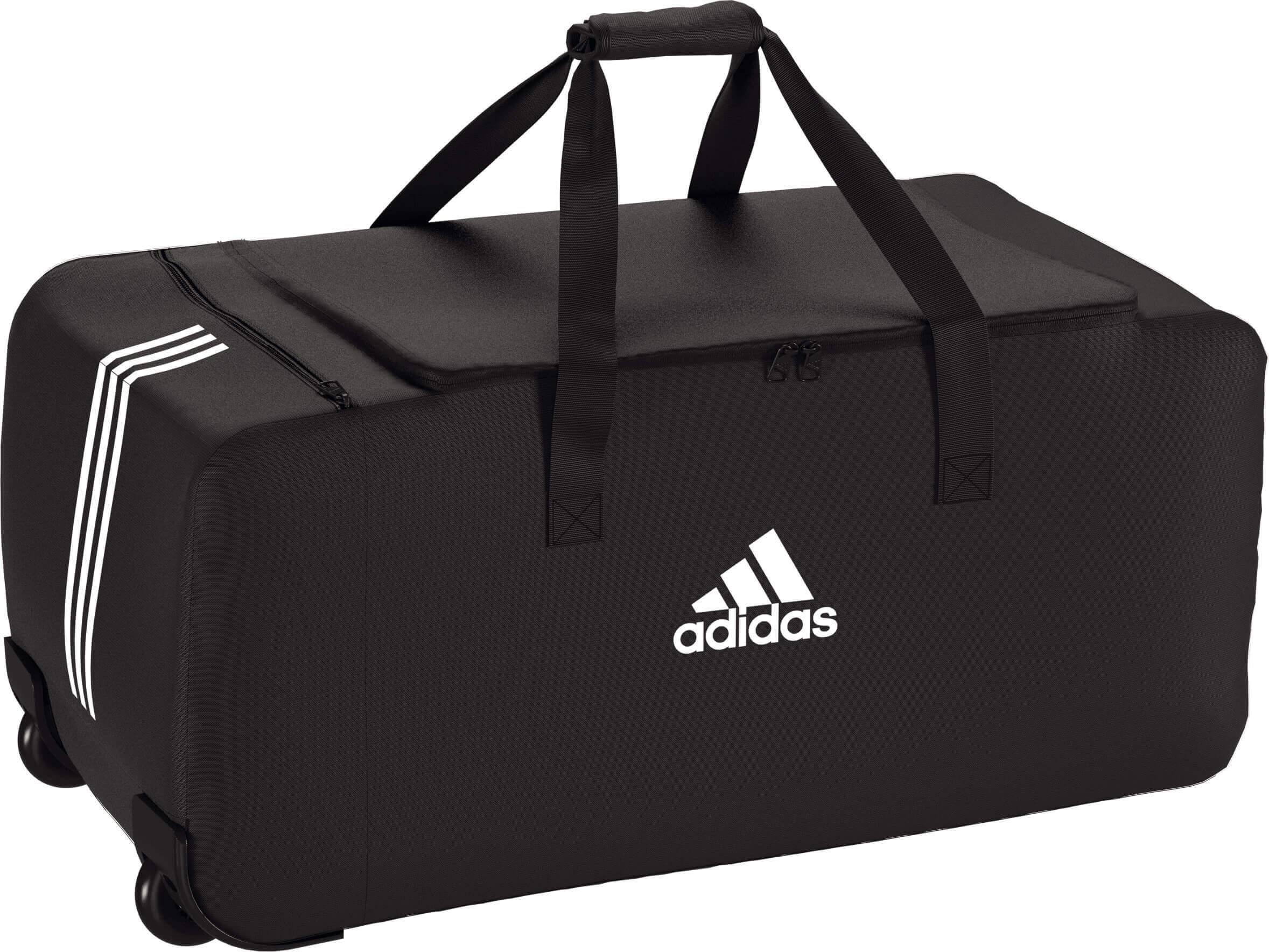 adidas Tiro 19 Trolley XL mit Rollen schwarz