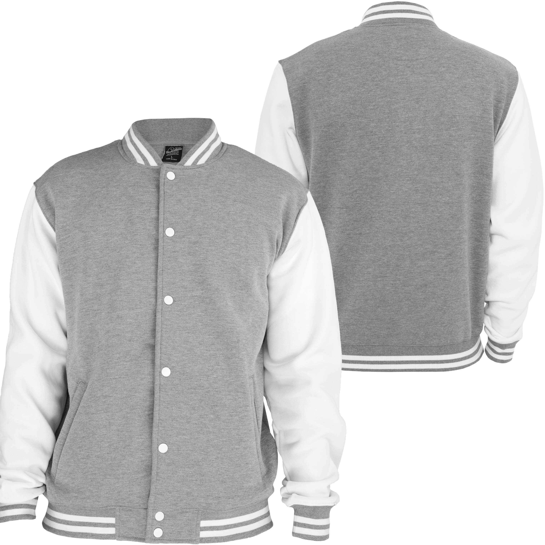 L-Shop College Jacke - grau/weiß | Damen | Jacken | Lifestyle ...
