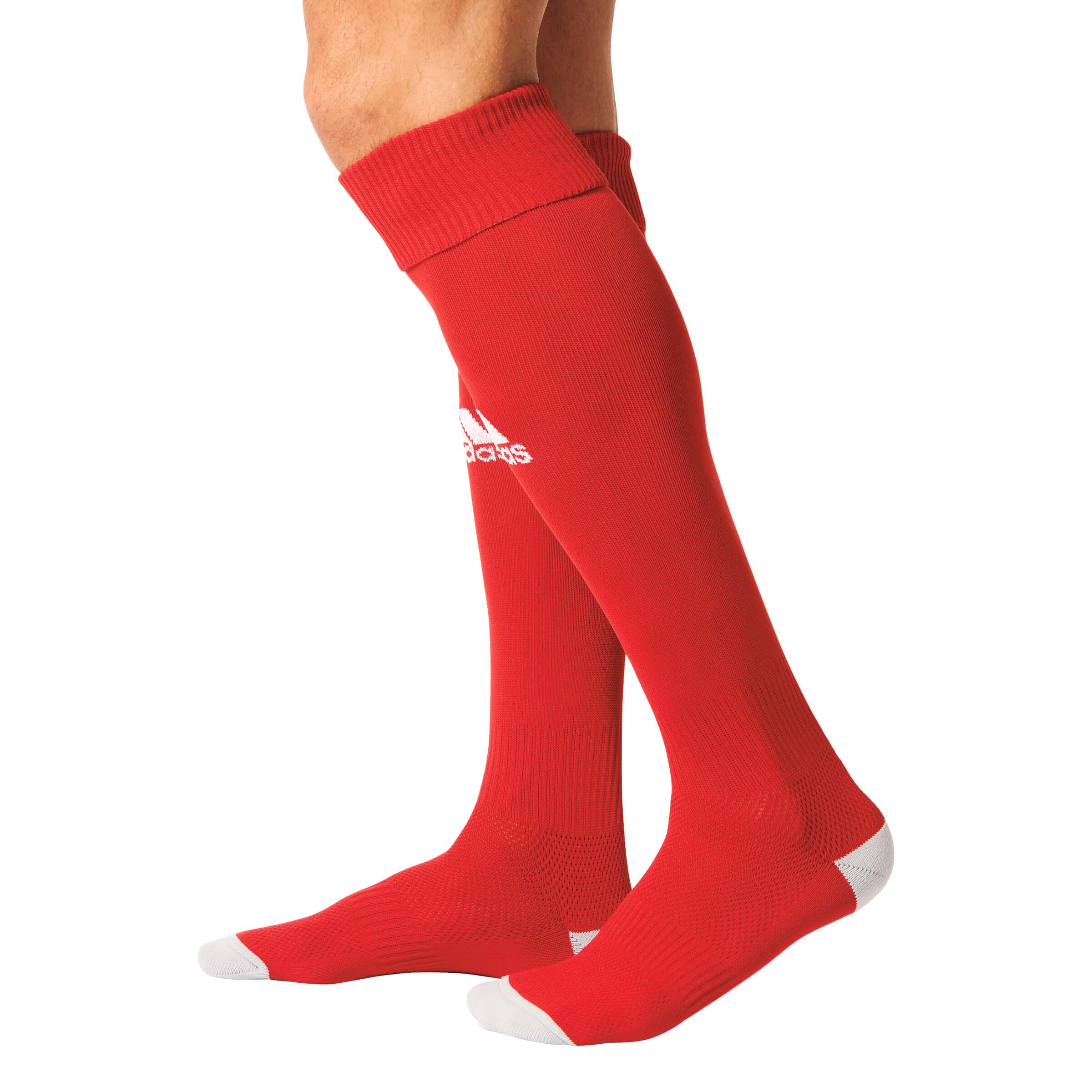Milano 16 Sock power redwhite