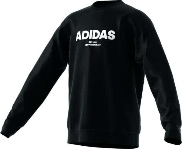 adidas Kinder Allcap Crew Sweatshirt - schwarz