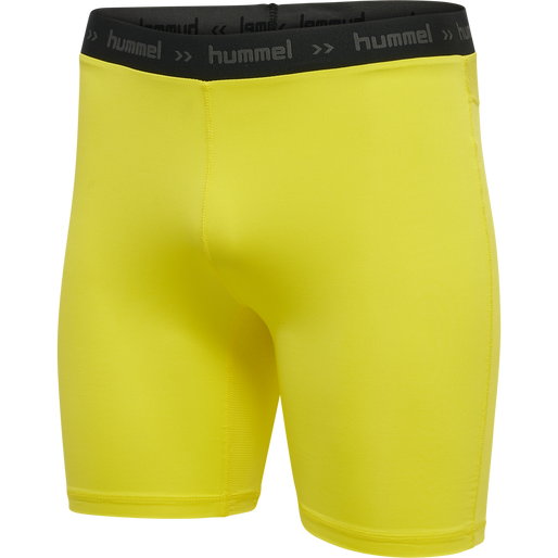 Hummel First Performance Tight Shorts - gelb