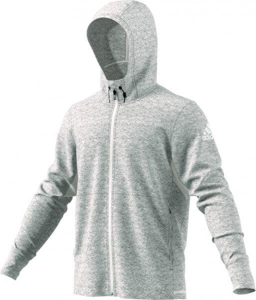 low priced b0368 6baee adidas WO FZ Climacool Hoody Jacket - grau